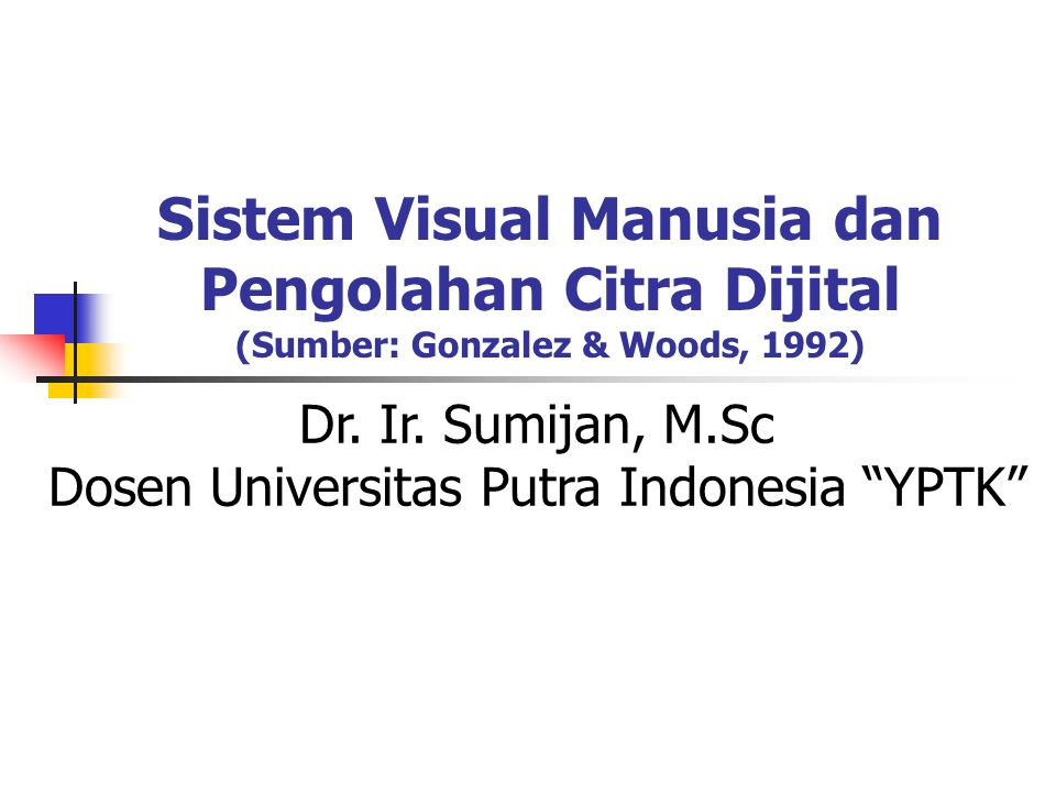 Dosen Universitas Putra Indonesia YPTK