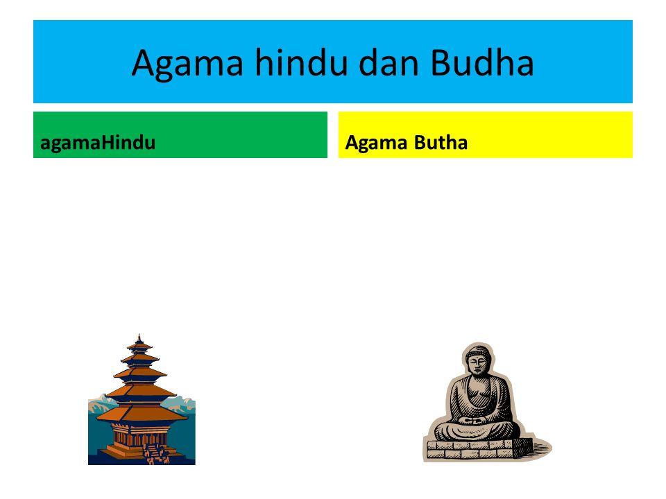 Agama hindu dan Budha agamaHindu Agama Butha