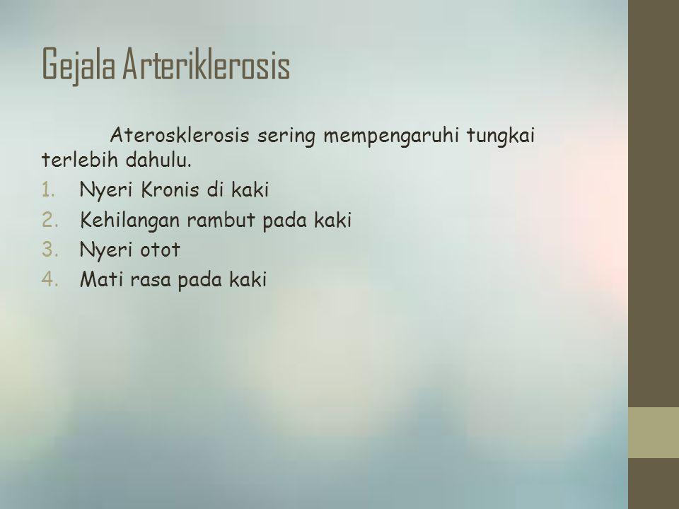 Gejala Arteriklerosis