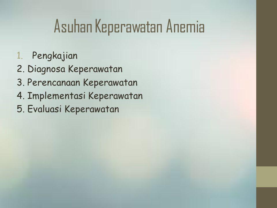 Asuhan Keperawatan Anemia