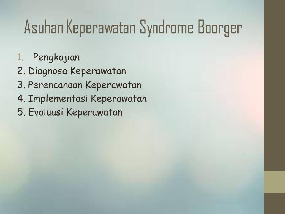 Asuhan Keperawatan Syndrome Boorger