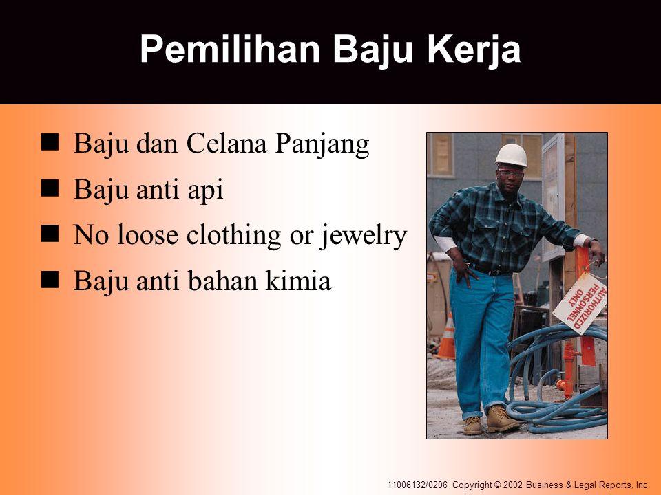 Pemilihan Baju Kerja Baju dan Celana Panjang Baju anti api