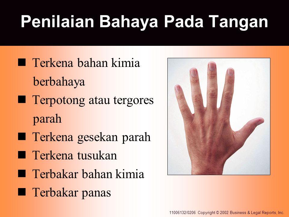 Penilaian Bahaya Pada Tangan
