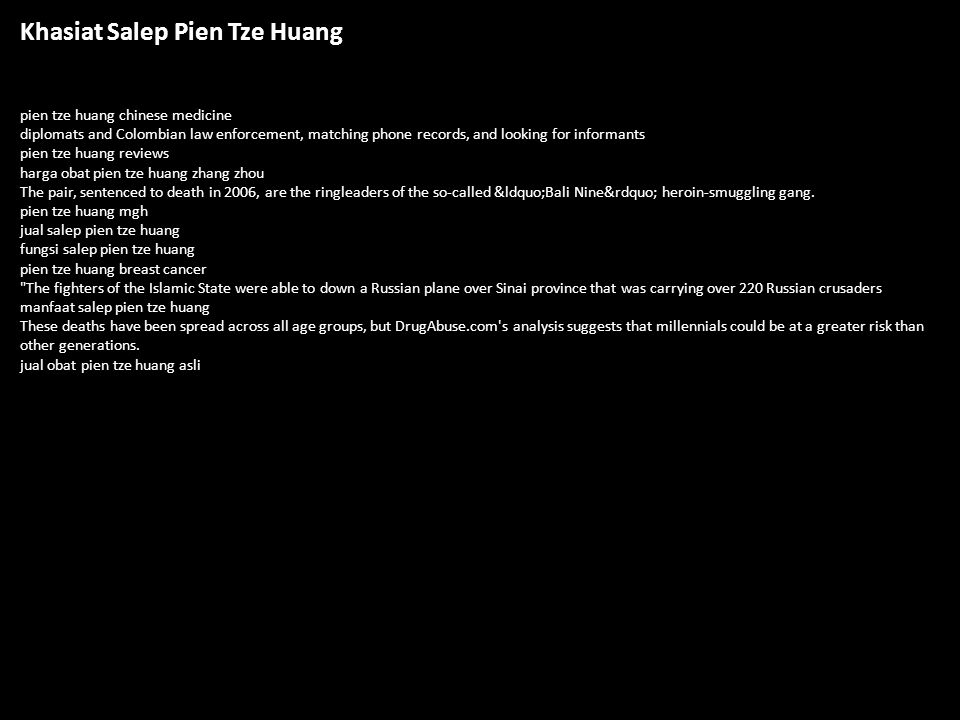 Khasiat Salep Pien Tze Huang