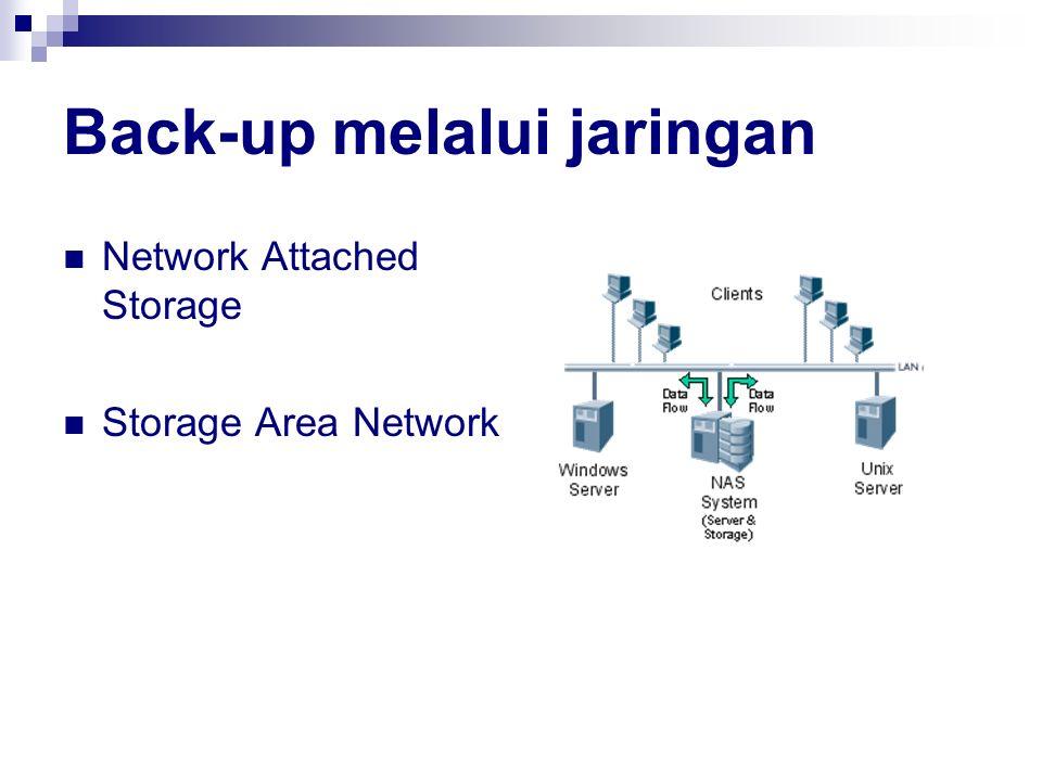 Back-up melalui jaringan