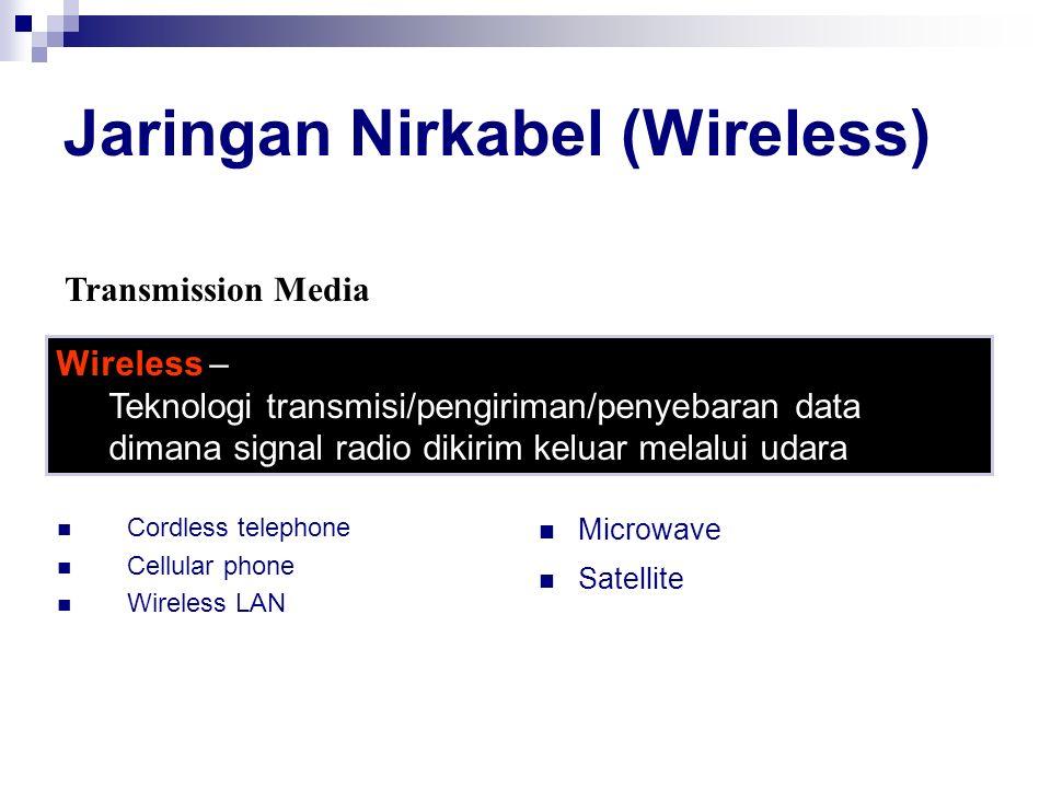 Jaringan Nirkabel (Wireless)