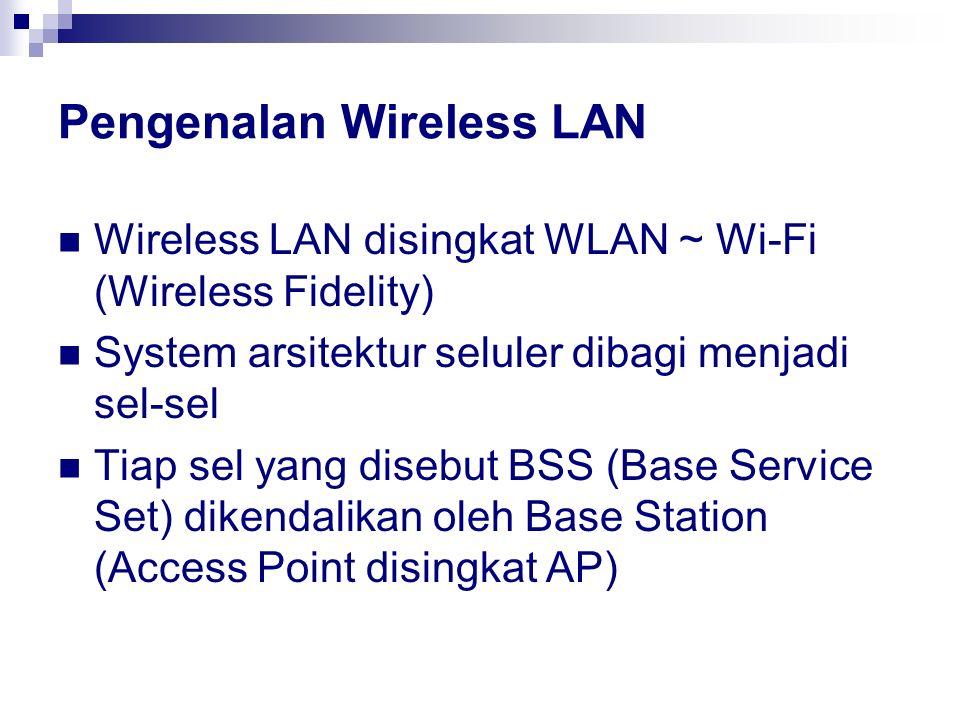 Pengenalan Wireless LAN