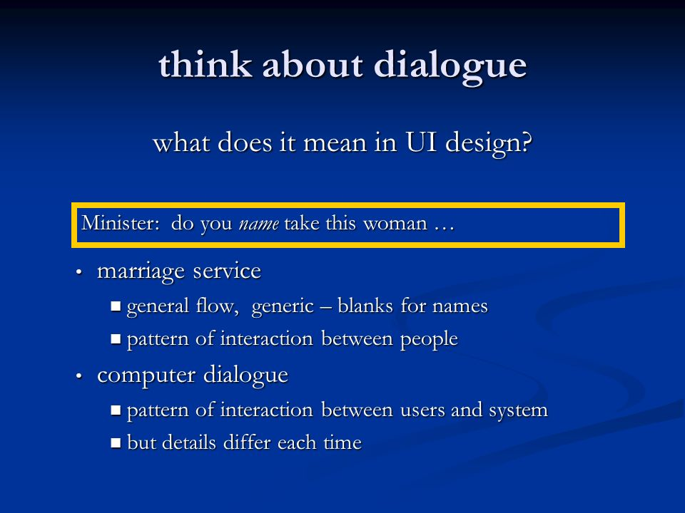 what does it mean in UI design