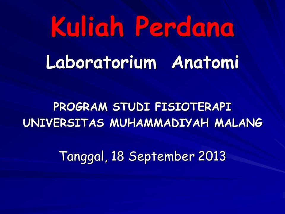 PROGRAM STUDI FISIOTERAPI UNIVERSITAS MUHAMMADIYAH MALANG