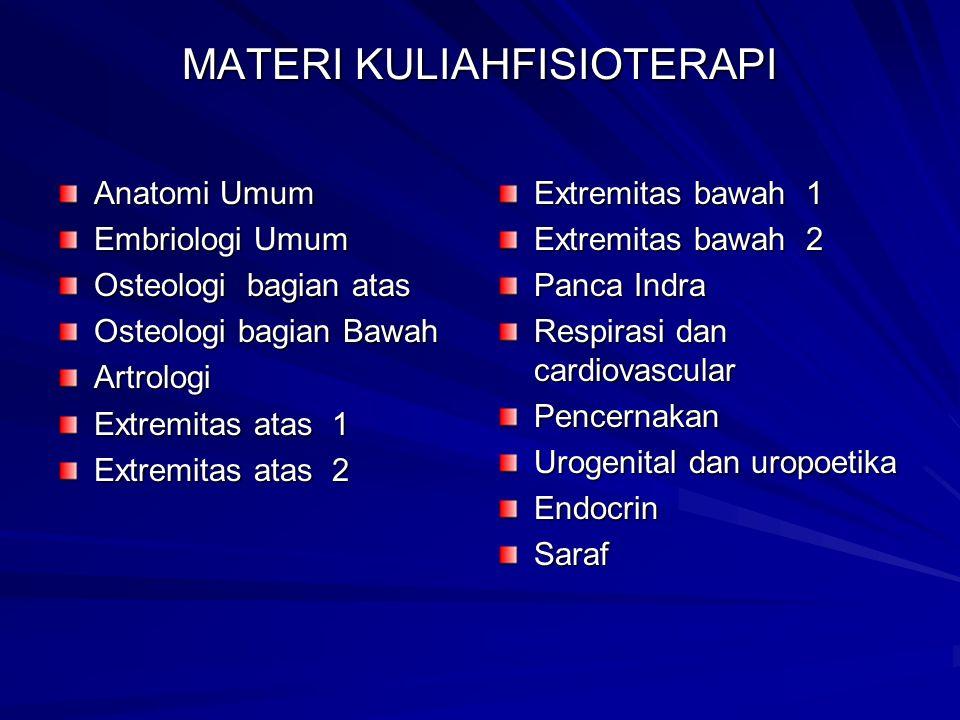 MATERI KULIAHFISIOTERAPI