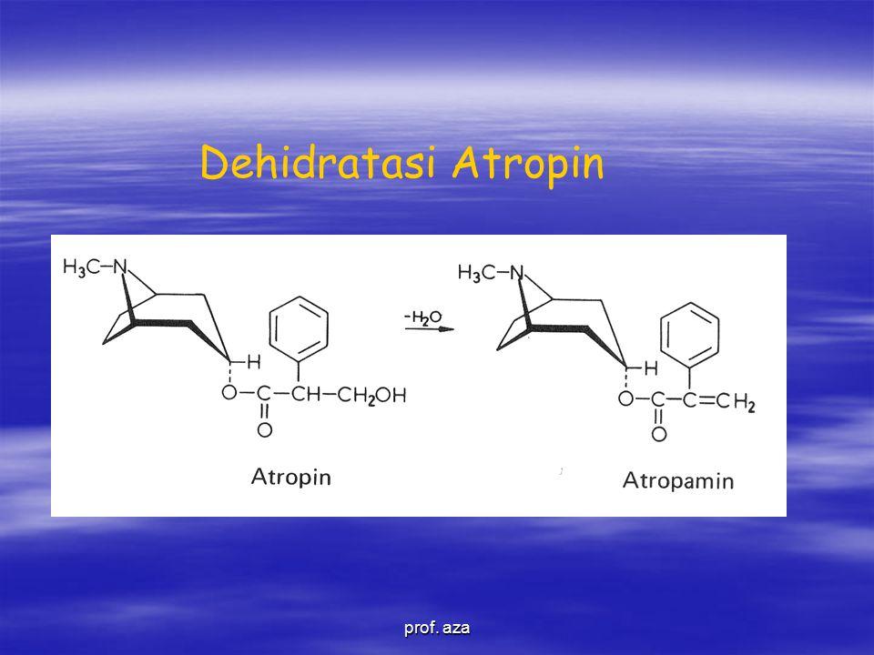 Dehidratasi Atropin prof. aza