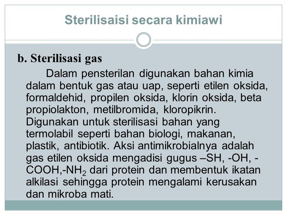 Sterilisaisi secara kimiawi