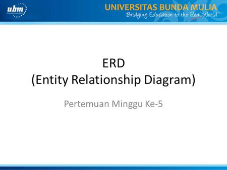 ERD (Entity Relationship Diagram)