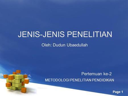 JENIS-JENIS METODE PENELITIAN KUANTITATIF - ppt download