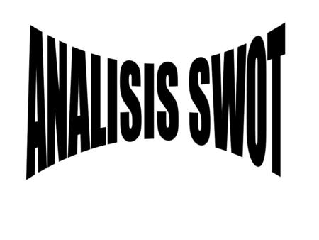 ANALISIS SWOT.