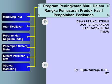 program dinas perdagangan