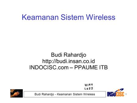 Keamanan Sistem Wireless