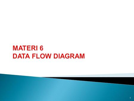 MATERI 6 DATA FLOW DIAGRAM