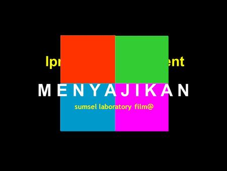 Lpmp sumsel present sumsel laboratory M E N Y A J I K A N.