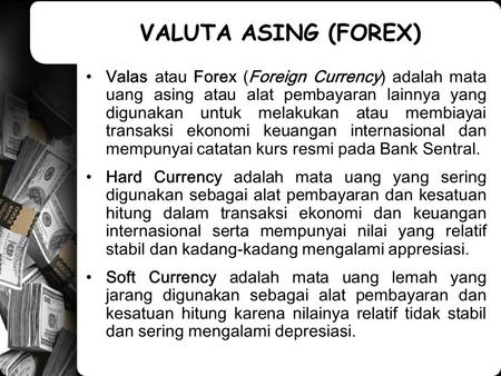 Transaksi forward forex