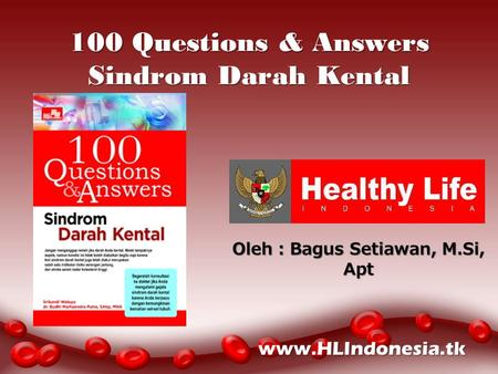 100 Questions & Answers Sindrom Darah Kental