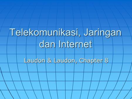 Modul 5 Sistem Komunikasi Bergerak (Mobile Communication ...