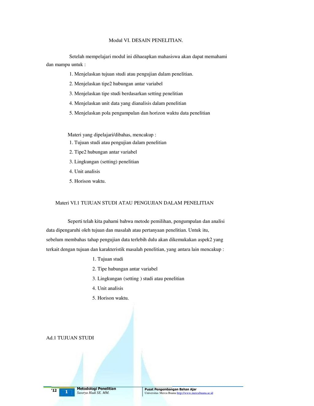 Modul Vi Desain Penelitian Ppt Download