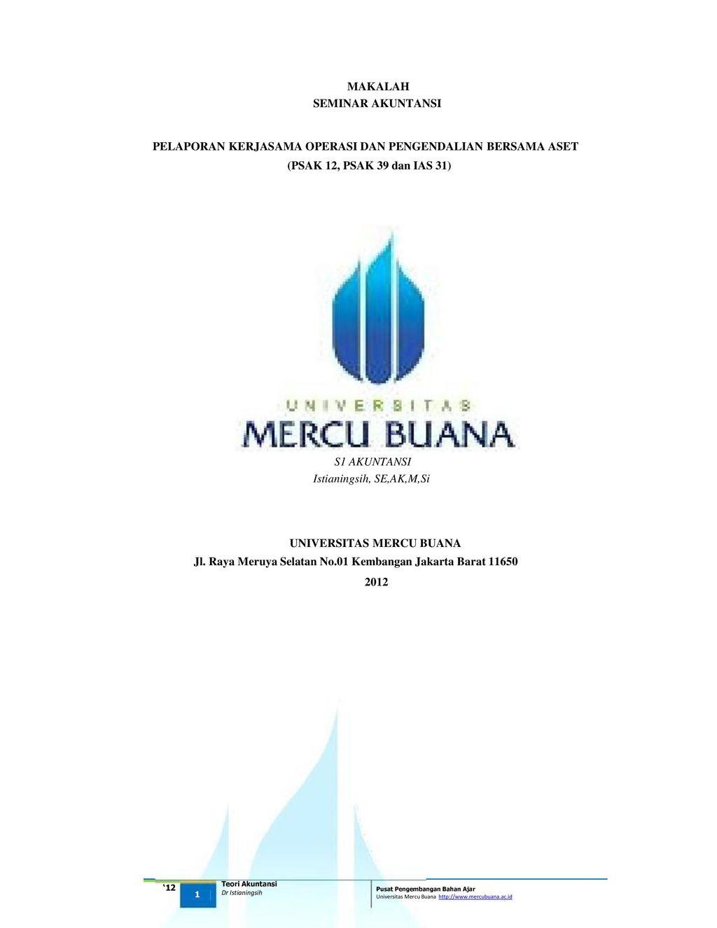 Makalah Seminar Akuntansi Ppt Download