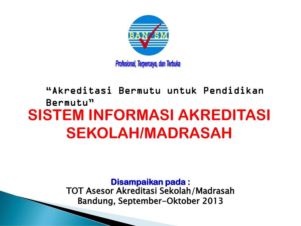 Akreditasi Sekolah Sumatera Utara