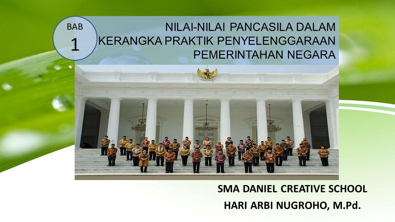 Contoh Makalah Pkn Nilai Nilai Pancasila Dalam Penyelenggaraan Pemerintahan