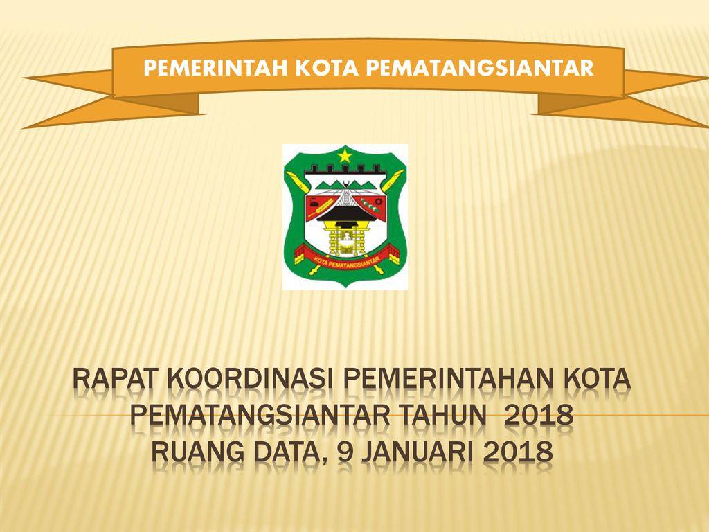 Pemerintah Kota Pematangsiantar Ppt Download