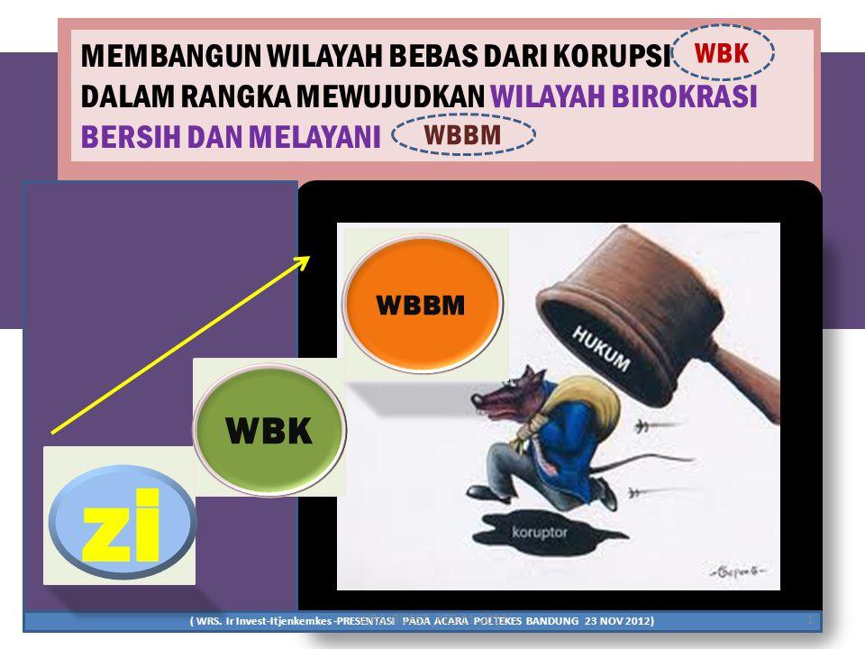 Zi Pembangunan Zona Integritas Menuju Wbk Dan Wbbm Ppt Download