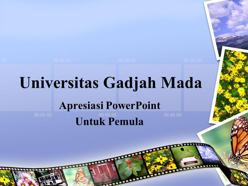 Universitas Gadjah Mada Ppt Download