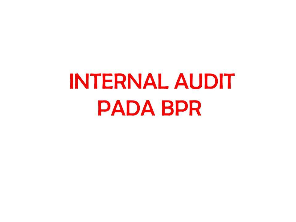 Contoh Laporan Hasil Audit Internal Bpr
