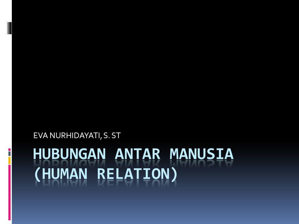 Hubungan Antar Manusia Adalah