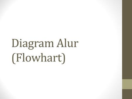 Diagram Alur (Flowhart)