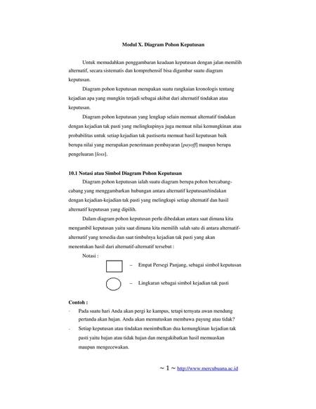 Diagram pohon keputusan ppt download modul x diagram pohon keputusan ccuart Images