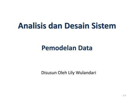 Pemodelan data data modeling ppt download outline entity relationship diagram erd element elemen erd ccuart Image collections