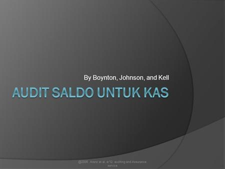 By Boynton, Johnson, and Kell