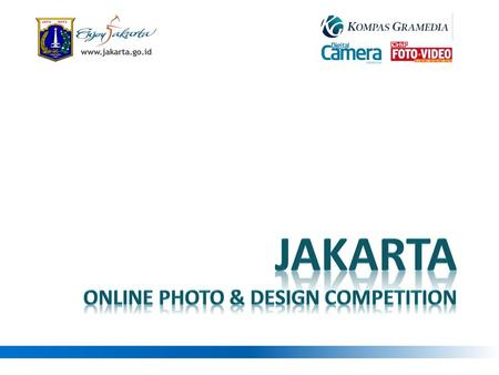 Jakarta online photo & Design competition.