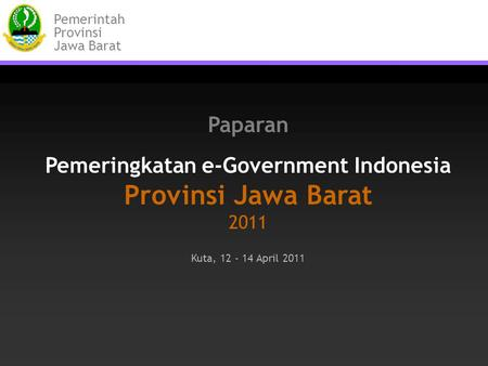 Pemeringkatan e-Government Indonesia