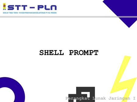 SHELL PROMPT 1.