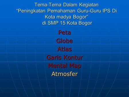 Peta Globe Atlas Garis Kontur Mental Map Atmosfer