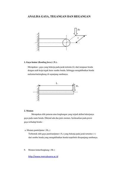 Mekanika teknik pengenalan tegangan dan regangan ppt download analisa gaya tegangan dan regangan ccuart Images