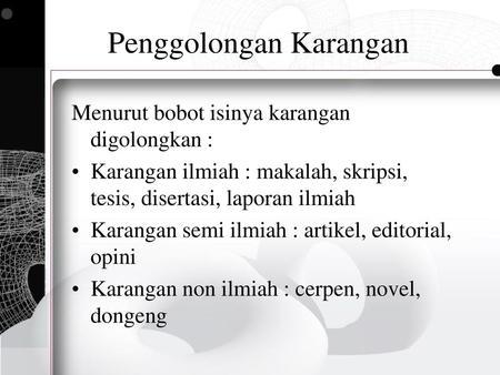 Bahasa Indonesia Ragam Ilmiah Ppt Download