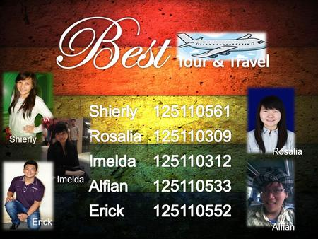 Best Tour & Travel Shierly Rosalia