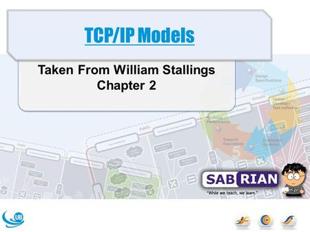 Taken From William Stallings Chapter 2 TCP/IP Models.