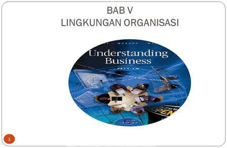 Copyright © 2005 by South-Western, a division of Thomson Learning, Inc. All rights reserved. BAB V LINGKUNGAN ORGANISASI 1.