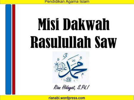 √ Sifat Rasul: Wajib, Mustahil, Jaiz, Meneladani, Sifat Nabi Muhammad