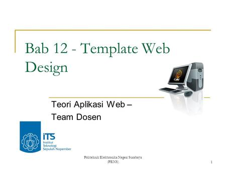 Bab 12 - Template Web Design